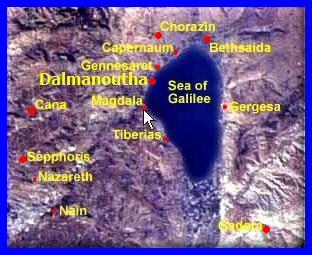 La Bonne Nouvelle du Christ annoncée à tous les Peuples. - Page 26 Map-Galil-Magadan-Dalmanoutha